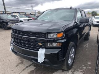 New 2019 Chevrolet Silverado 1500 Silverado Custom SHORT BOX / CREW CAB / 1CX CUSTOM for sale in Markham, ON