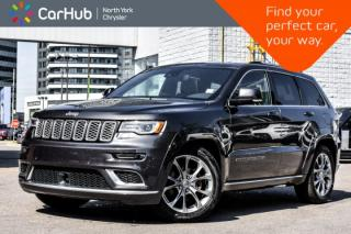 Used 2019 Jeep Grand Cherokee Summit|4x4|Plat.Series,Trailer.Tow.Pkgs|Pano.Sunroof|H.K.Audio| for sale in Thornhill, ON