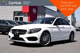 Used 2017 Mercedes-Benz C-Class AMG C 43|AMG.Styling,Keyless.Go.Pkgs|Pano.Sunroof|GPS| for sale in Thornhill, ON
