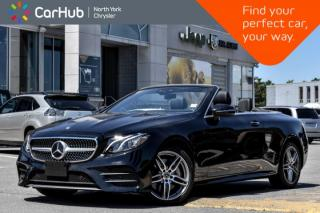 Used 2018 Mercedes-Benz E-Class E 400|Smartphone.Integ,AMG.Styling,Keyless.Go.Pkgs|GPS| for sale in Thornhill, ON