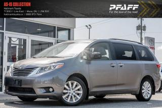 Used 2015 Toyota Sienna XLE AWD 7-pass V6 6A for sale in Orangeville, ON