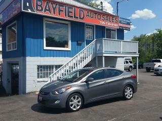 Used 2012 Hyundai Elantra Limited **Leather/Sunroof/Heated Seats** for sale in Barrie, ON