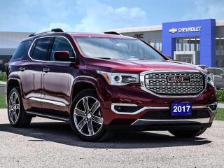 Used 2017 GMC Acadia Denali for sale in Markham, ON