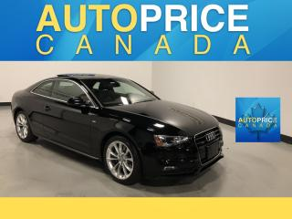 Used 2016 Audi A5 2.0T Komfort plus S-LINE|NAVIGATION|PANOROOF for sale in Mississauga, ON