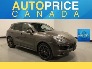 Used 2013 Porsche Cayenne S MOONROOF|NAVIGATION|LEATHER for sale in Mississauga, ON
