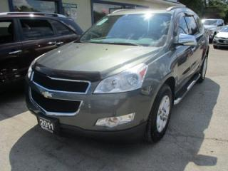Used 2011 Chevrolet Traverse ALL-WHEEL DRIVE LS MODEL 8 PASSENGER 3.6L - V6.. BENCH & 3RD ROW.. CD/AUX INPUT.. KEYLESS ENTRY.. for sale in Bradford, ON