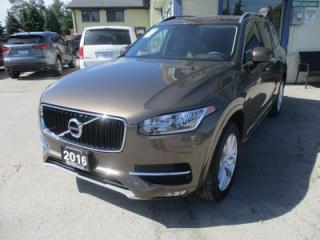 Used 2016 Volvo XC90 ALL-WHEEL DRIVE T6 EDITION 7 PASSENGER 2.0L - DOHC.. DRIVE-MODE.. BENCH & THIRD ROW.. LEATHER.. HEATED SEATS.. PANORAMIC SUNROOF.. BACK-UP CAMERA.. for sale in Bradford, ON