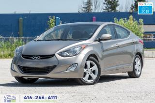 Used 2013 Hyundai Elantra GLS Sunroof Bluetooth Certified Hyundai Serviced for sale in Bolton, ON