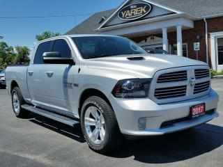 Used 2017 RAM 1500 Sport 4x4, Heated Seats/Wheel, Sunroof, NAV, Tow Pkg for sale in Paris, ON