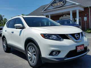 Used 2015 Nissan Rogue SL AWD, Leather Heated Seats, Pano Roof, NAV, 360 Cam, Safety Pkg for sale in Paris, ON