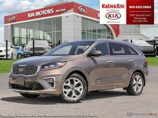 New 2019 Kia Sorento SX for sale in Mississauga, ON