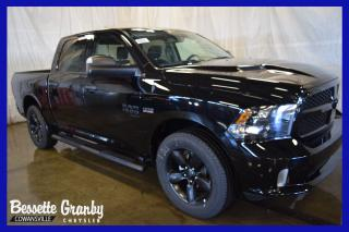 Used 2019 RAM 1500 Express Night +Capot Sport, Marche-Pieds+ for sale in Cowansville, QC
