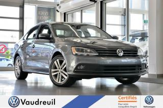 Used 2015 Volkswagen Jetta Highline * CUIR * TOIT * 17 PO for sale in Vaudreuil-Dorion, QC