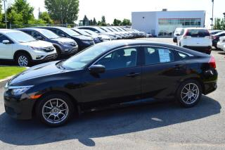 Used 2016 Honda Civic LX ** Garantie moteur 7/160 ** for sale in Longueuil, QC
