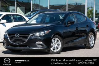 Used 2015 Mazda MAZDA3 GX MAZDA 3 GX MANUEL 6 VITESSE AIR CLIMATISÉ BLUETOOTH AUX UNITÉ PROPRE for sale in Lachine, QC