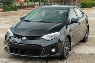 Used 2014 Toyota Corolla S NO Accidents | 1-Owner | CERTIFIED for sale in Waterloo, ON