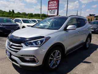 Used 2017 Hyundai Santa Fe Sport 2.0T Limited NAVIGATION !!  SUNROOF !!  LEATHER !! for sale in Cambridge, ON
