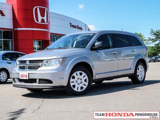 Used 2015 Dodge Journey CVP/SE Plus for sale in Milton, ON