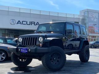 Used 2015 Jeep Wrangler Unlimited Sport WILLYS | 4LIFT | 35TIRES | NEWBRAKES | HARDTOP for sale in Burlington, ON