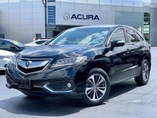 Used 2017 Acura RDX Elite ELITE | 1OWNER | NOACCIDENTS | 3.4% | LOWKMS | for sale in Burlington, ON