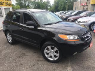 Used 2009 Hyundai Santa Fe LIMITED/ LEATHER/ SUNROOF/ ALLOYS/ FOG LIGHTS! for sale in Scarborough, ON