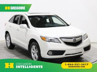 Used 2015 Acura RDX TECH PKG AWD A/C for sale in St-Léonard, QC