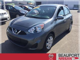 Used 2018 Nissan Micra 1.6 SV AUTOMATIQUE ***8 000 KM*** for sale in Beauport, QC