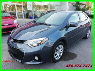 Used 2015 Toyota Corolla COROLLA S, **BAS KILOMÉTRAGE** for sale in Longueuil, QC