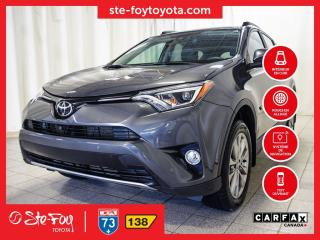 Used 2017 Toyota RAV4 Ltd Awd Cuir for sale in Québec, QC