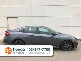 New 2019 Honda Civic Sedan Sport Back Up Camera Heated Seats Sunroof for sale in Red Deer, AB