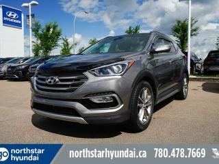 Used 2017 Hyundai Santa Fe Sport LTD LEATHER/PANOROOF/NAV/COOLEDSEATS/HEATEDSTEERING for sale in Edmonton, AB