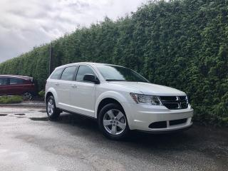 Used 2018 Dodge Journey Canada Value Pkg + 7 PASSENGER + LOW KMS + NO EXTRA DEALER FEES for sale in Surrey, BC