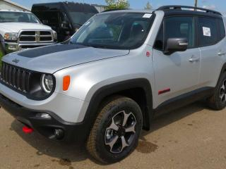 New 2019 Jeep Renegade Trailhawk for sale in Edmonton, AB