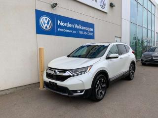 Used 2017 Honda CR-V TOURING AWD - LEATHER / NAVI / SUNROOF for sale in Edmonton, AB