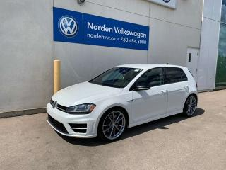Used 2017 Volkswagen Golf R 2.0 TURBO 4MOTION AWD - TECH PKG / CERTIFIED for sale in Edmonton, AB