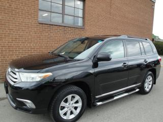Used 2011 Toyota Highlander 7 PASSANGER-BACKUP CAM-BLUETOOTH for sale in Oakville, ON