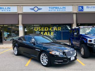 Used 2013 Jaguar XJ Fully Loaded, Clean CarFax for sale in Vaughan, ON