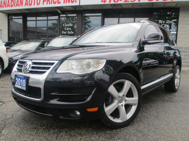 2010 Volkswagen Touareg COMFRT-TDI-AWD-LTHER-ROOF-BLUETOOTH-HEATED