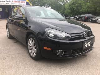 Used 2012 Volkswagen Golf COMFORTLINE for sale in Beeton, ON