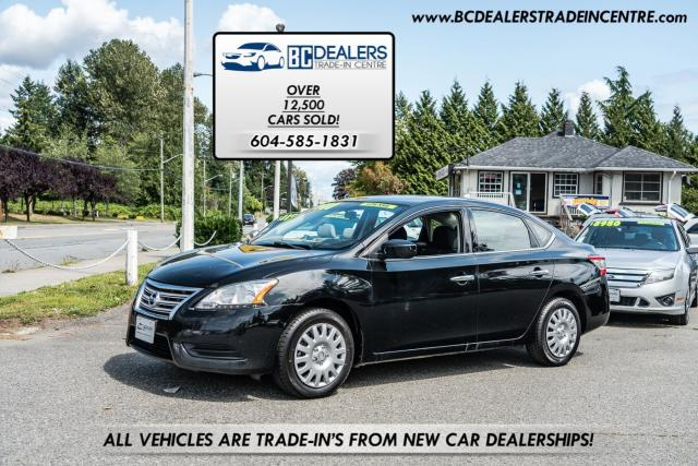 2015 Nissan Sentra S, Local, No Accidents, Bluetooth, Low Km's!