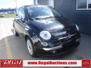 Used 2013 Fiat 500 2D Convertible for sale in Calgary, AB