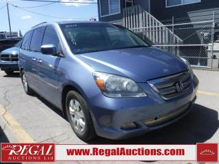 Used 2007 Honda Odyssey WAGON for sale in Calgary, AB