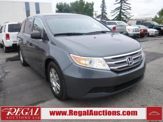 Used 2012 Honda Odyssey 4D WAGON for sale in Calgary, AB