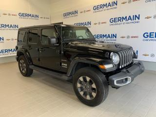 Used 2018 Jeep Wrangler Sahara for sale in St-Raymond, QC