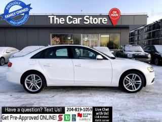 Used 2014 Audi A4 Technik NAVI backcam PUSHSTART - LOCAL 1 OWNER for sale in Winnipeg, MB