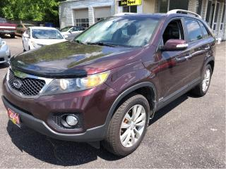 Used 2011 Kia Sorento EX Lux w/3rd Row for sale in Kitchener, ON