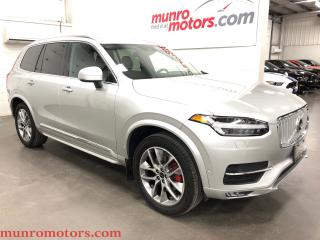Used 2018 Volvo XC90 T6 Inscription/Vision/Convenience/Climate/Bowers for sale in St. George Brant, ON
