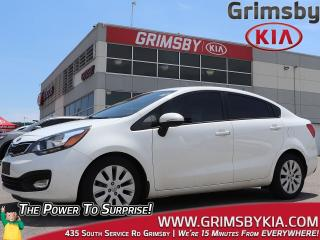 Used 2015 Kia Rio EX+  Gas Saver  Low KMS  Sunroof! for sale in Grimsby, ON