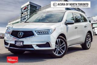 Used 2018 Acura MDX Navi No Accident| Remote Start| Blind Spot for sale in Thornhill, ON