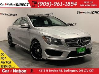 Used 2015 Mercedes-Benz CLA-Class 250 4MATIC| SUNROOF| NAVI| PARKING SENSORS| for sale in Burlington, ON